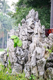 Rockery stone Stock Photos