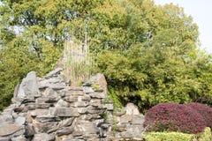 Rockery stone Royalty Free Stock Photo