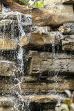 Rockery and water. Details of rockery and water Royalty Free Stock Image