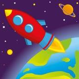 Rocket Imagem de Stock