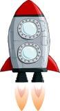 Rocket. On a white background, vector vector illustration