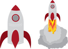 Rocket Royalty Free Stock Photos