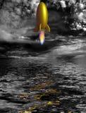 Rocket stock image