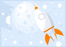 Rocket illustration stock