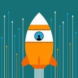 Rocket Fotografia Stock Libera da Diritti