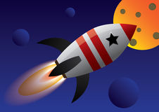 Rocket Fotografie Stock