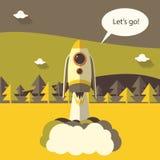 Rocket Fotos de Stock Royalty Free