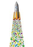 Rocket Images libres de droits