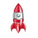 Rocket aisló en blanco libre illustration