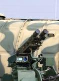 Rocket-artillery anti-aircraft gun Royalty Free Stock Images