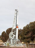Rocket. In australian outback in township of Woomera South Australia Stock Photography