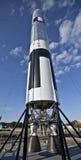 Rocket aux visiteurs de Centre Spatial Kennedy centraux Photo stock