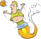 Rocket Basketball Player Stock Photo