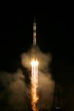Rocket Blast at Night stock images