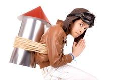 Rocket boy Royalty Free Stock Photos