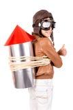 Rocket boy Royalty Free Stock Photo