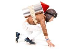 Rocket boy Stock Images