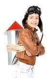 Rocket boy Royalty Free Stock Image