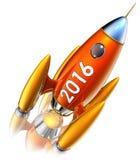 Rocket 2016 Stock Image