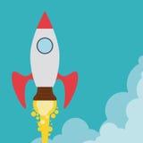 Rocket-Design Stockbilder