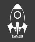 Rocket design Stock Photography