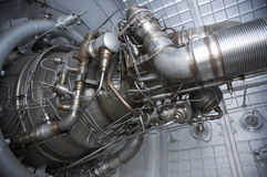 Rocket engine exposed Royalty Free Stock Image
