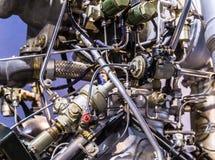 Rocket Engine Launcher Detail Exhibition fotografia de stock royalty free