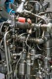Rocket Engine Launcher Detail Exhibition imagens de stock royalty free