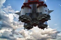 Rocket engines Stock Image