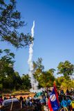 Rocket festival Stock Photo