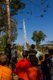 Rocket festival Stock Photo