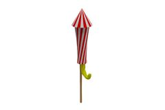 Rocket for firework Stock Photos