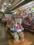 Rocket Fizz-opslag in Fort Collins Colorado stock afbeeldingen