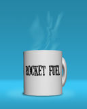 Rocket Fule für Ihren Morgen Stockbild