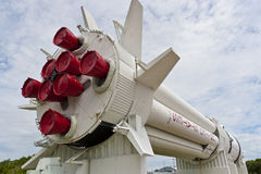 Rocket Garden at Kennedy Space Center Stock Images