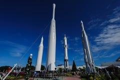 The Rocket Garden Royalty Free Stock Photos