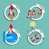 Rocket-Geschäft 4 Lizenzfreie Stockfotografie