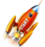 Rocket Royalty Free Stock Photo
