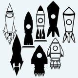Rocket icon Stock Image