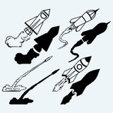 Rocket icon Royalty Free Stock Image
