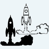 Rocket icon Stock Images