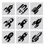 Rocket icon Royalty Free Stock Photography