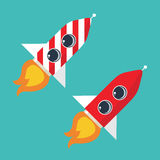 Rocket icon Royalty Free Stock Images