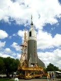 Rocket lauching en Houston Space Center image libre de droits