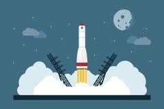 Rocket Launch Arkivbild