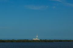 Rocket Launch from Cape Canaveral Royalty Free Stock Photos