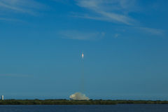 Rocket Launch from Cape Canaveral Stock Photo