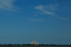 Rocket Launch from Cape Canaveral Royalty Free Stock Images