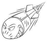 Rocket launch. Eps 10 illustration Design vector illustration