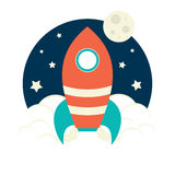 Rocket Launch Royalty Free Stock Images